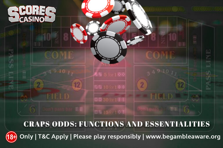 Craps Odds Functions and essentialities