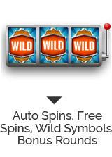 Auto Spins, Free Spins, Wild Symbols