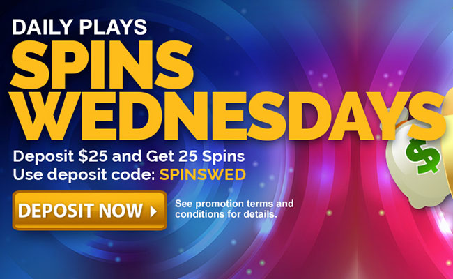 Spins Wednesday Promotion