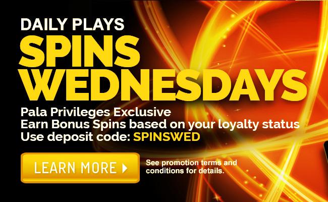 Spins Wednesdays Promotion